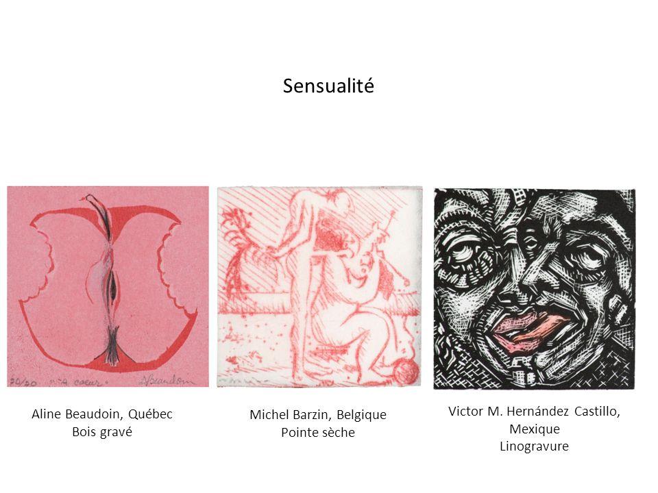 Sensualité Victor M. Hernández Castillo, Mexique