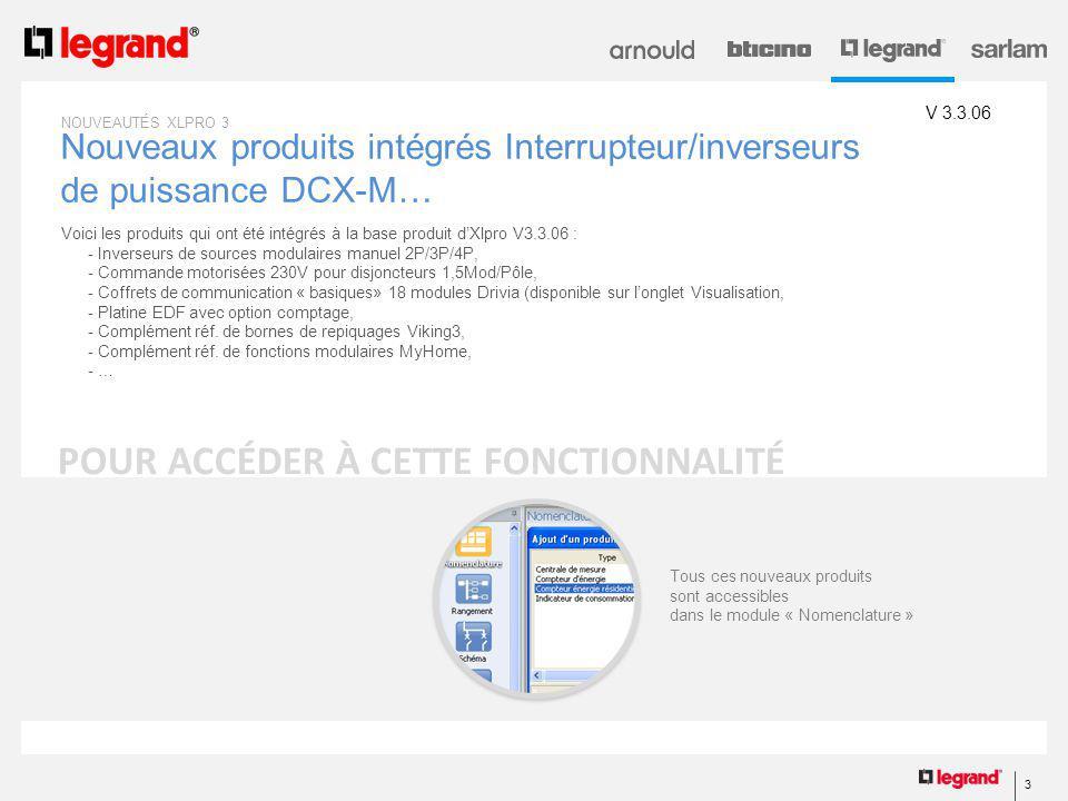 Nouveaux produits intégrés Interrupteur/inverseurs de puissance DCX-M…