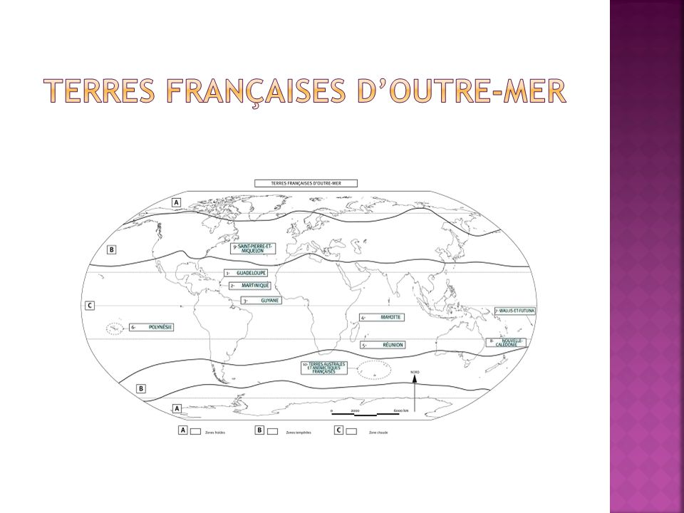 Terres françaises d'outre-mer