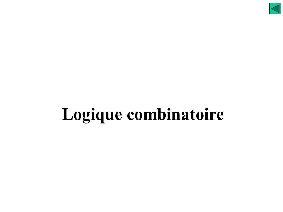 Logique combinatoire