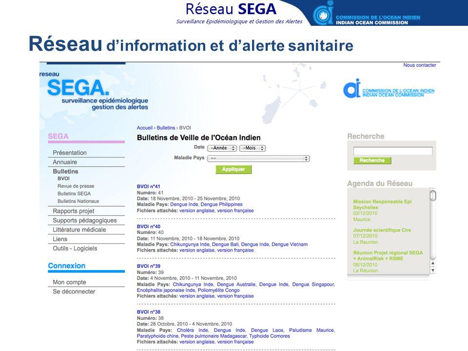 Réseau d'information et d'alerte sanitaire