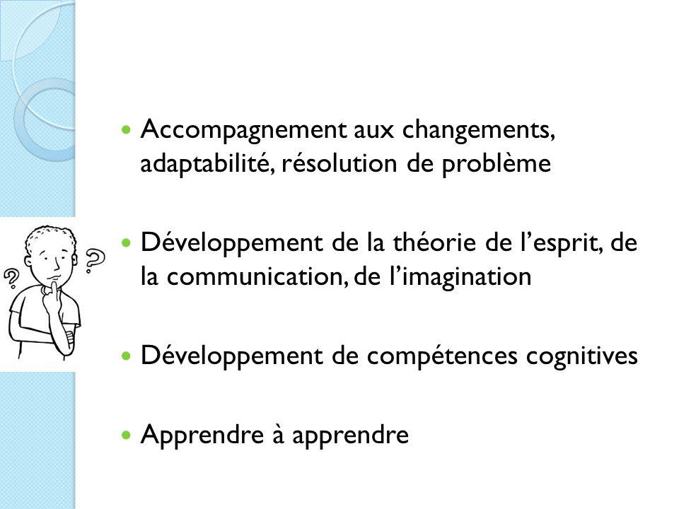 Accompagnement aux changements, adaptabilité, résolution de problème