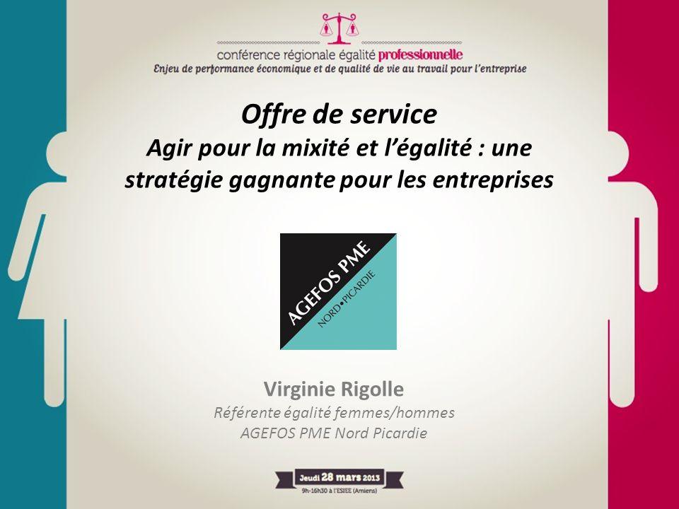 Offre de service Agir pour la mixité et l'égalité : une stratégie gagnante pour les entreprises. Virginie Rigolle.