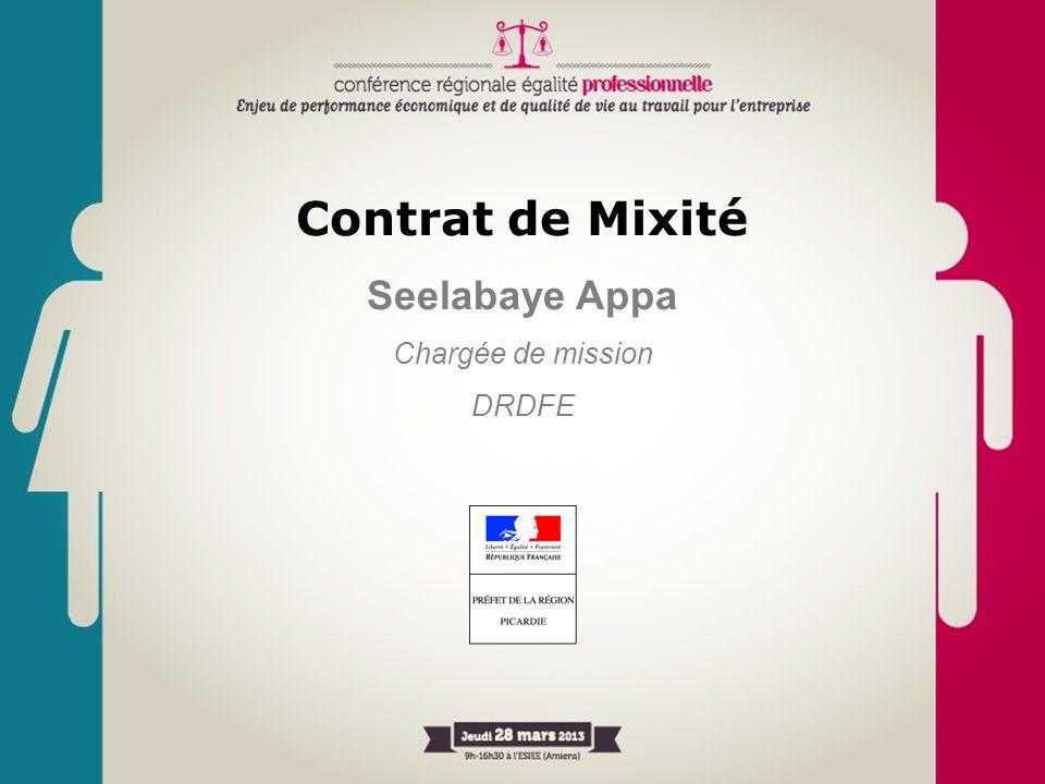Contrat de Mixité Seelabaye Appa Chargée de mission DRDFE