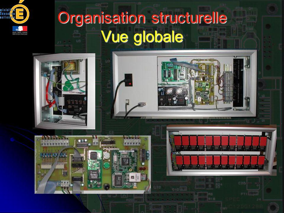 Organisation structurelle Vue globale