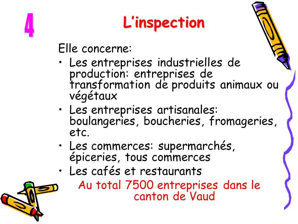 Au total 7500 entreprises dans le canton de Vaud