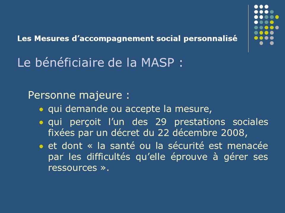 Les Mesures d'accompagnement social personnalisé