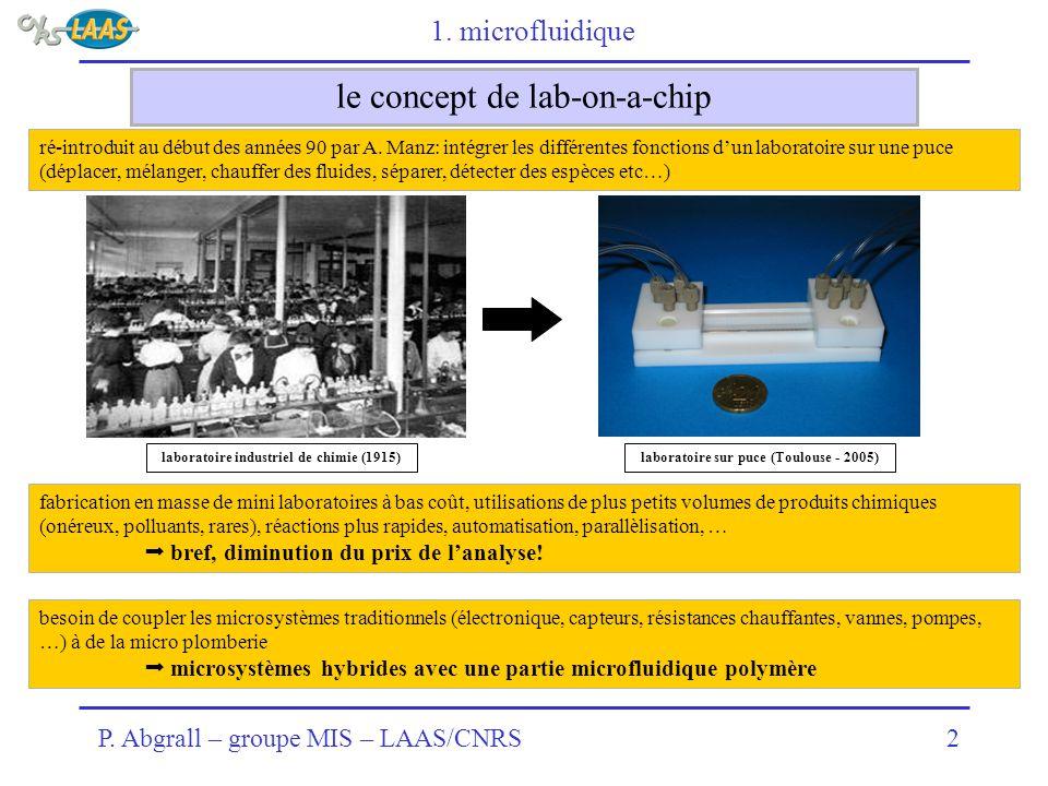 le concept de lab-on-a-chip