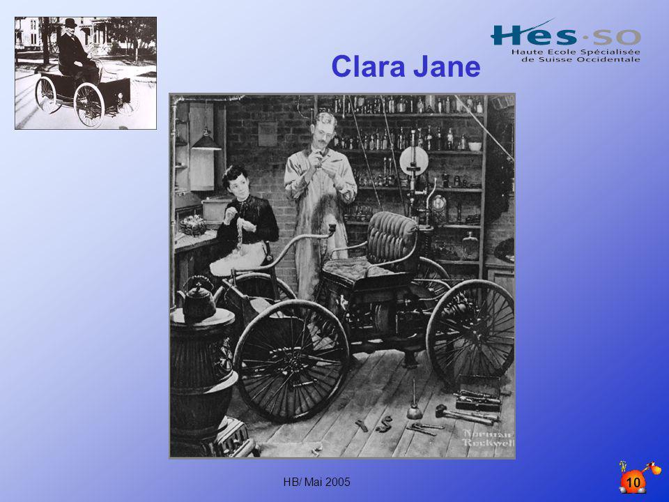 Clara Jane HB/ Mai 2005