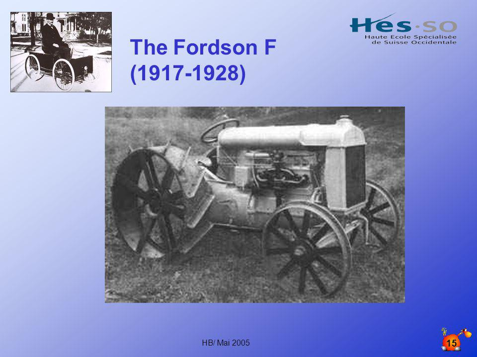 The Fordson F (1917-1928) HB/ Mai 2005