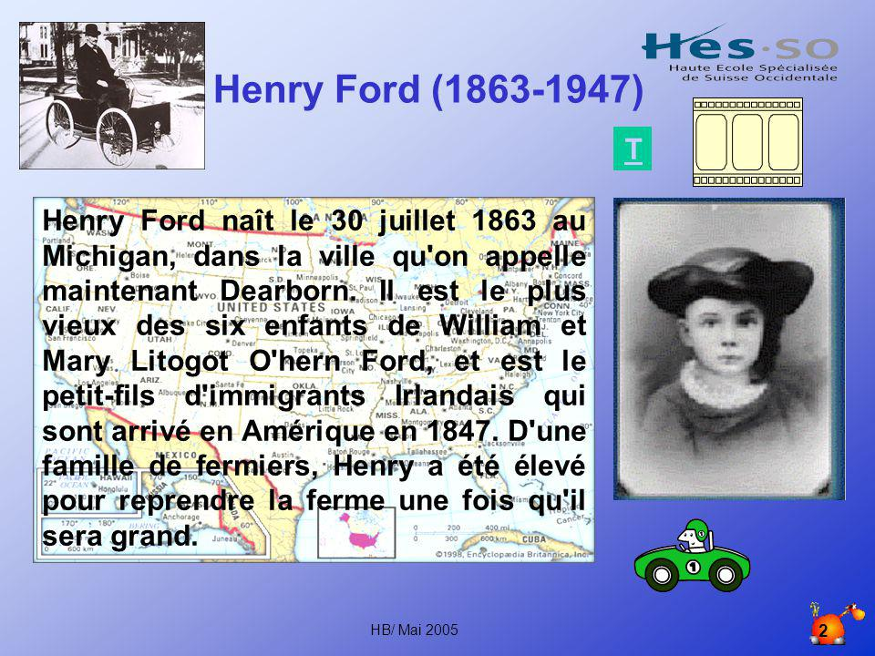 Henry Ford (1863-1947) T.