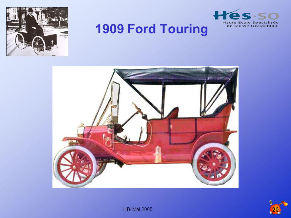 1909 Ford Touring HB/ Mai 2005