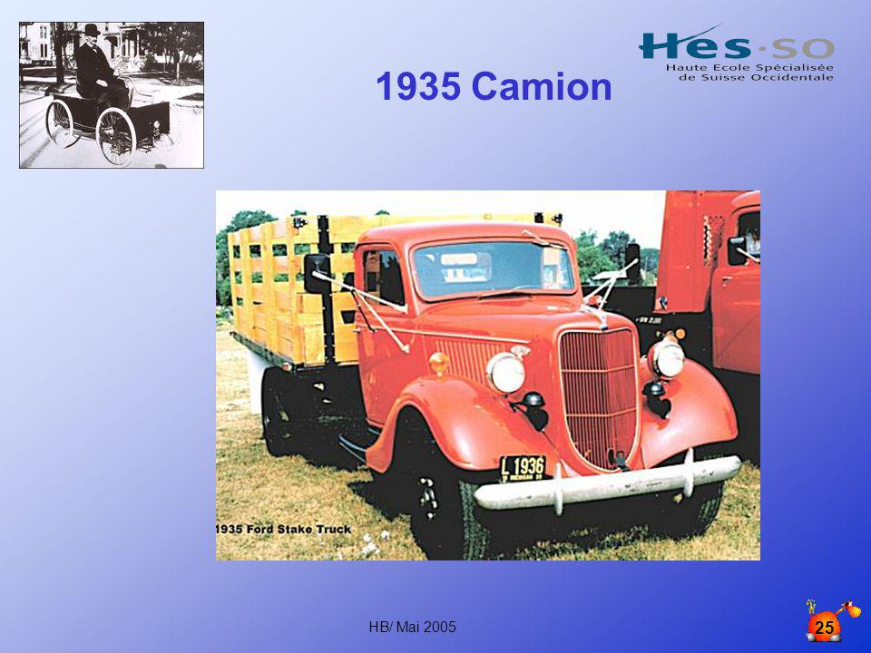 1935 Camion HB/ Mai 2005