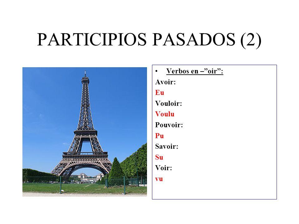PARTICIPIOS PASADOS (2)