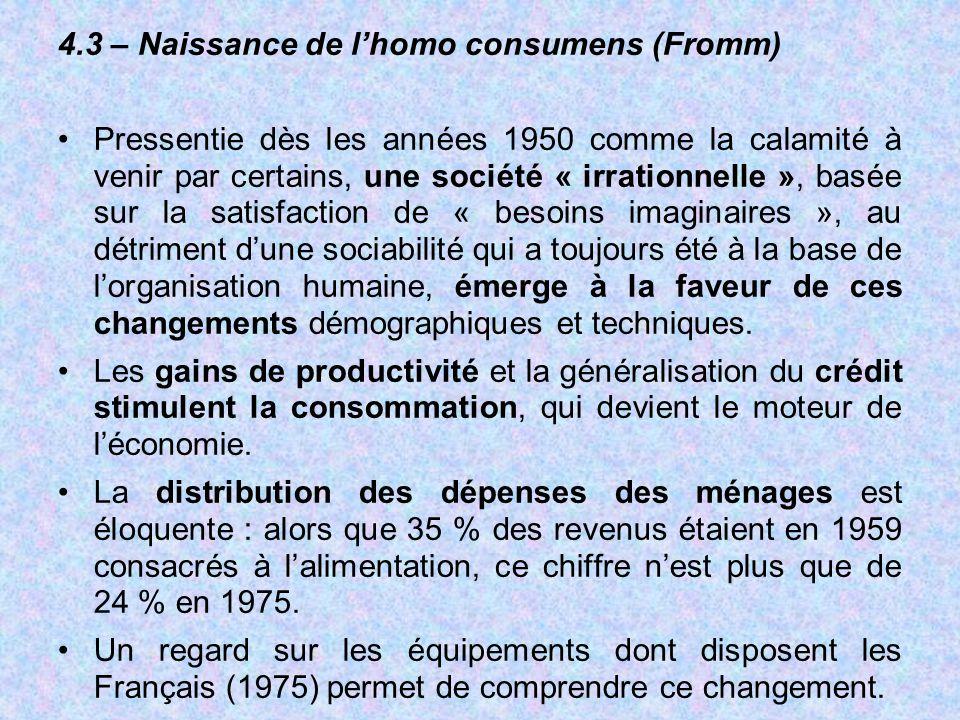 4.3 – Naissance de l'homo consumens (Fromm)