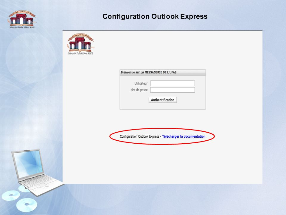 Configuration Outlook Express