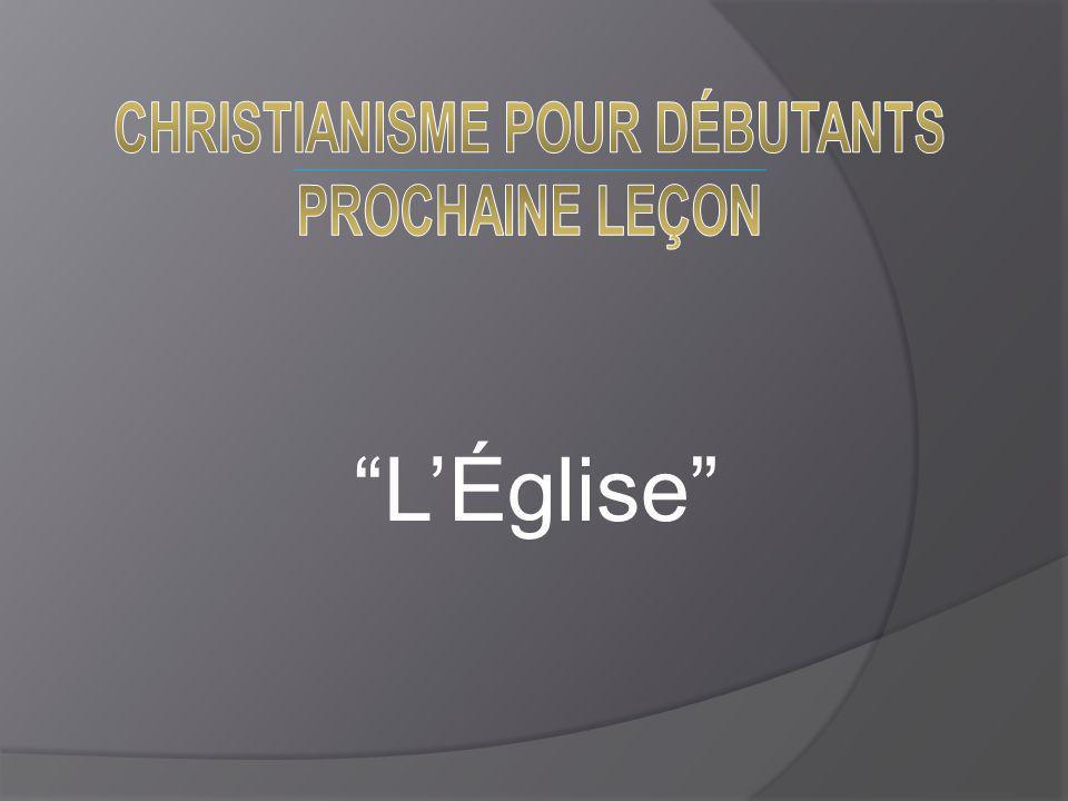 CHRISTIANISME POUR DÉBUTANTS
