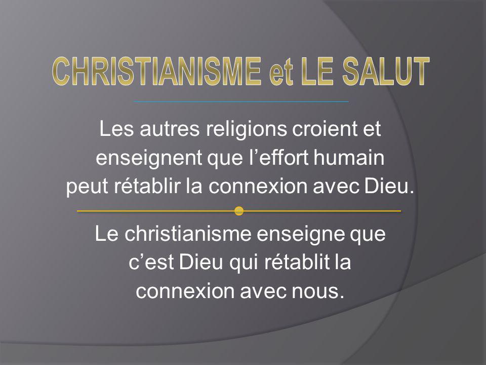 CHRISTIANISME et LE SALUT