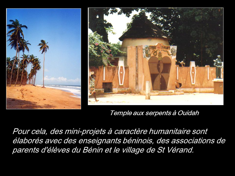 Temple aux serpents à Ouidah