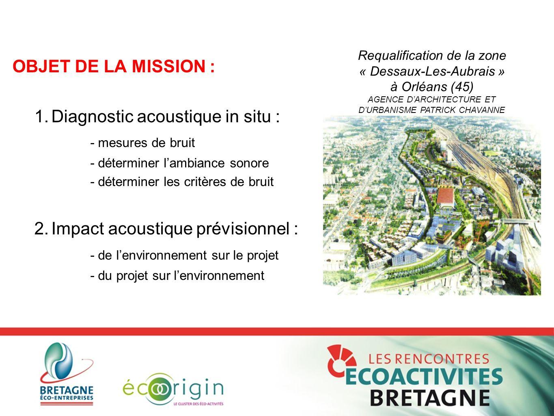 Requalification de la zone « Dessaux-Les-Aubrais »