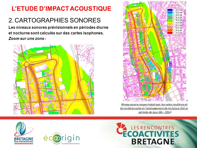 L'ETUDE D'IMPACT ACOUSTIQUE