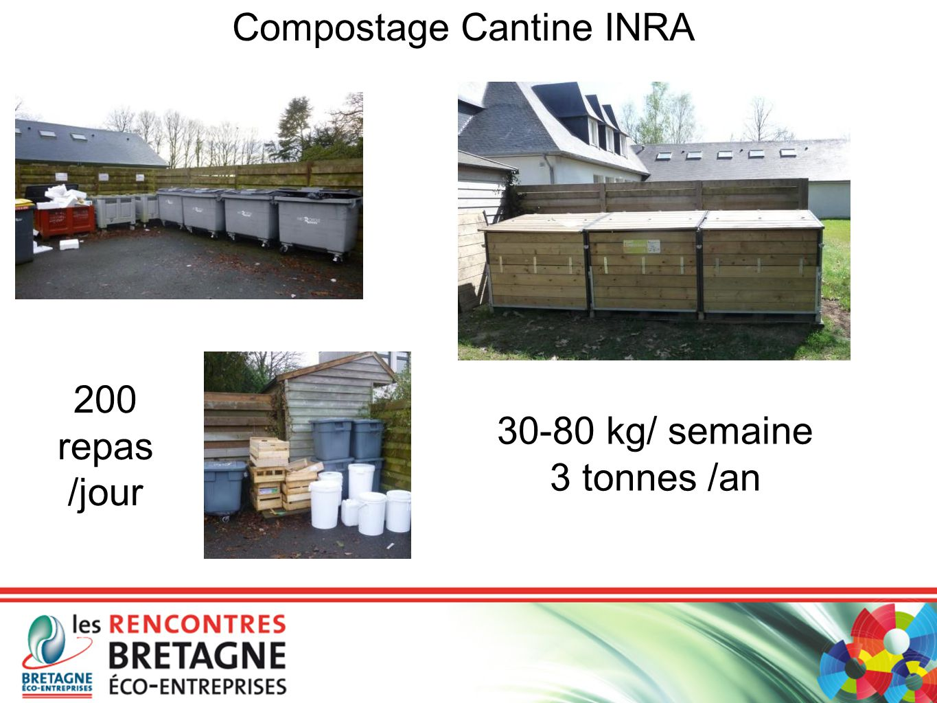Compostage Cantine INRA