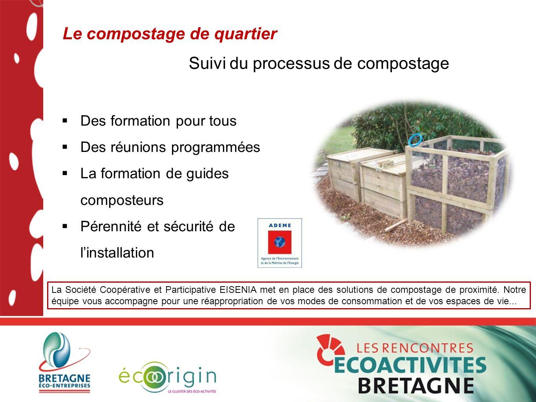 Le compostage de quartier