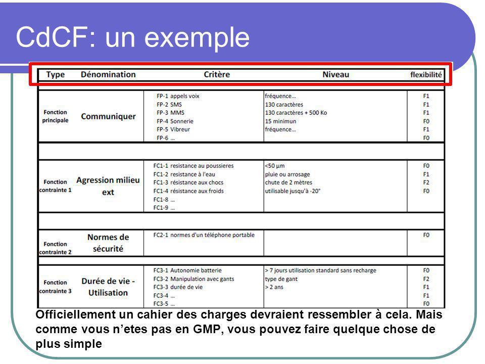 CdCF: un exemple