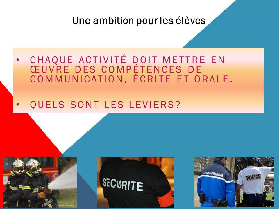 Une ambition pour les élèves