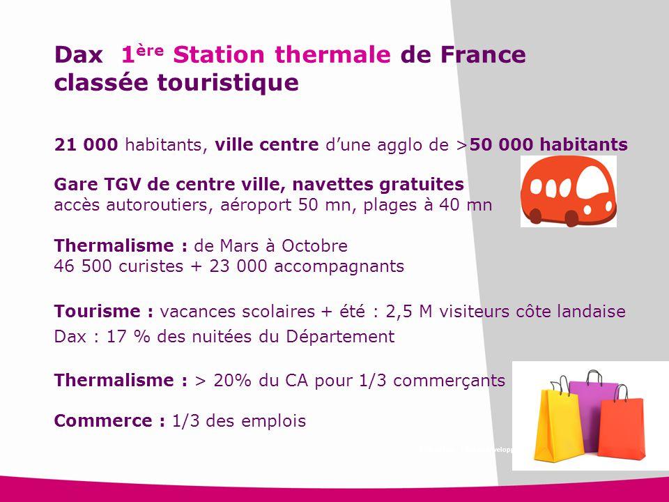 Dax 1ère Station thermale de France classée touristique