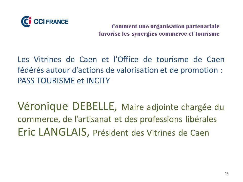 Eric LANGLAIS, Président des Vitrines de Caen
