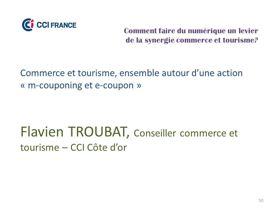 Flavien TROUBAT, Conseiller commerce et tourisme – CCI Côte d'or