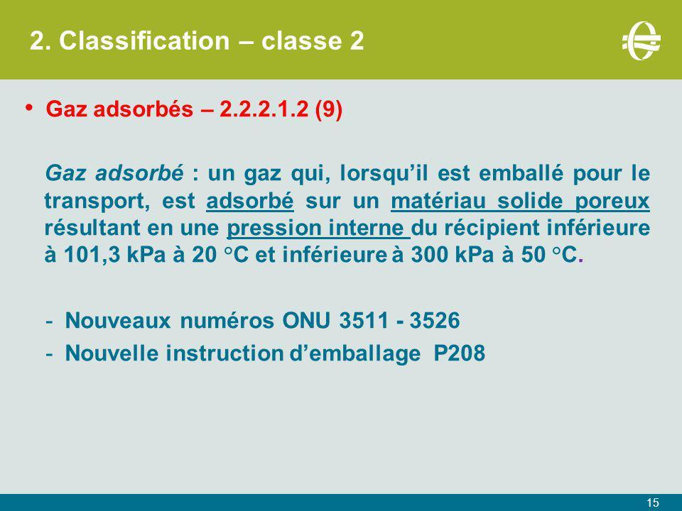 2. Classification – classe 2