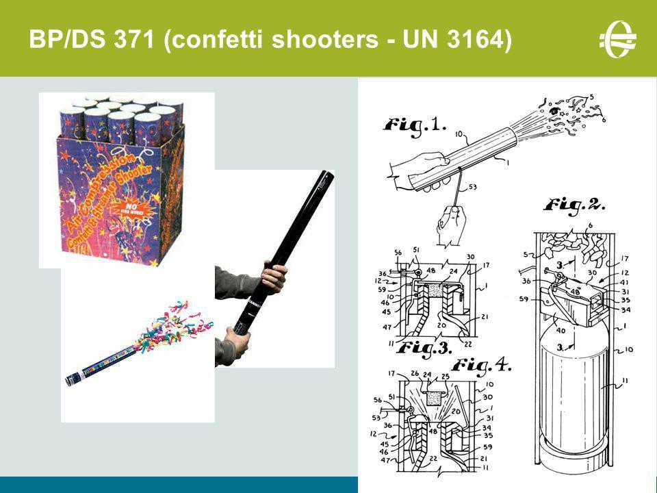 BP/DS 371 (confetti shooters - UN 3164)