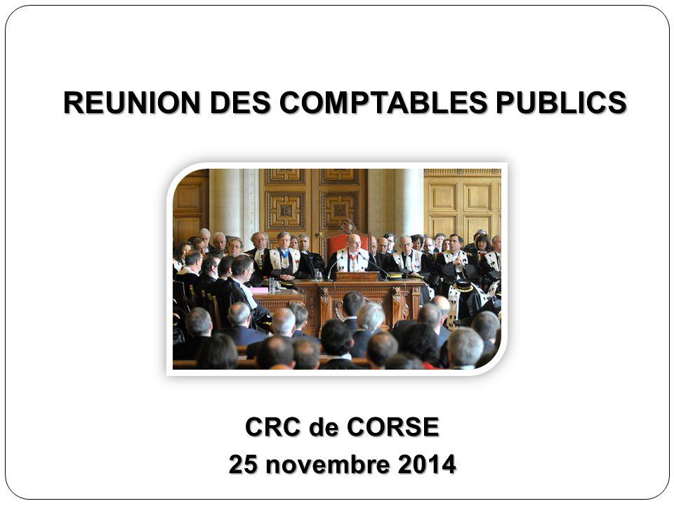 REUNION DES COMPTABLES PUBLICS