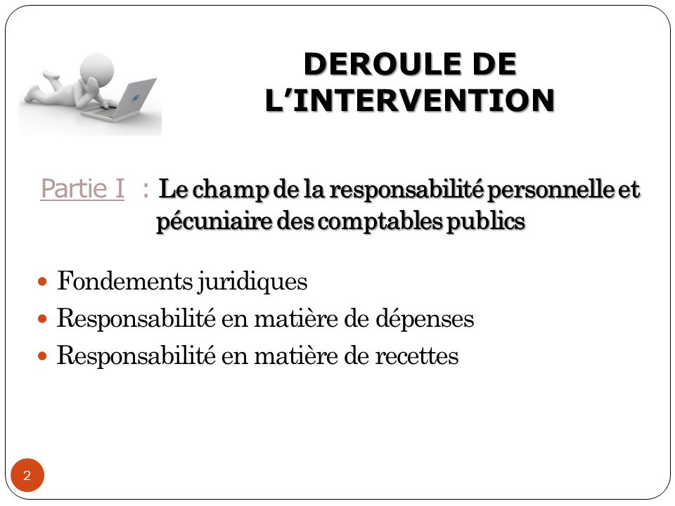 DEROULE DE L'INTERVENTION