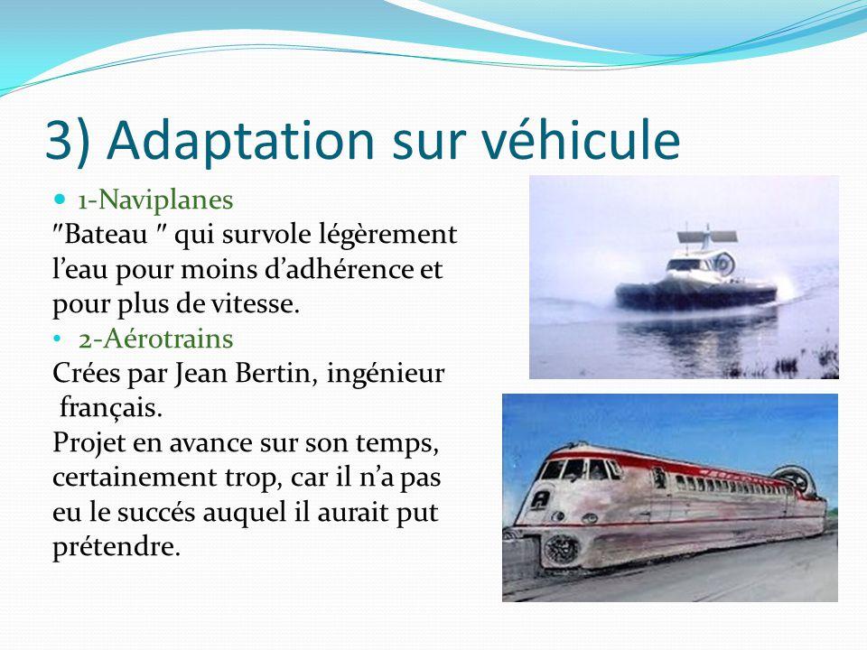 3) Adaptation sur véhicule