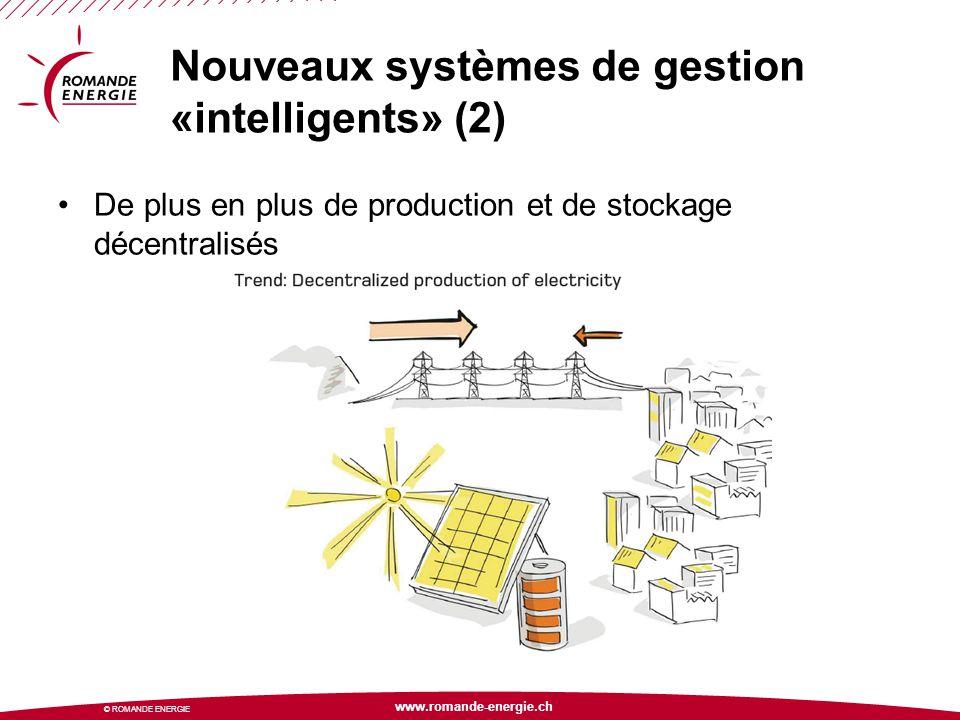 Nouveaux systèmes de gestion «intelligents» (2)