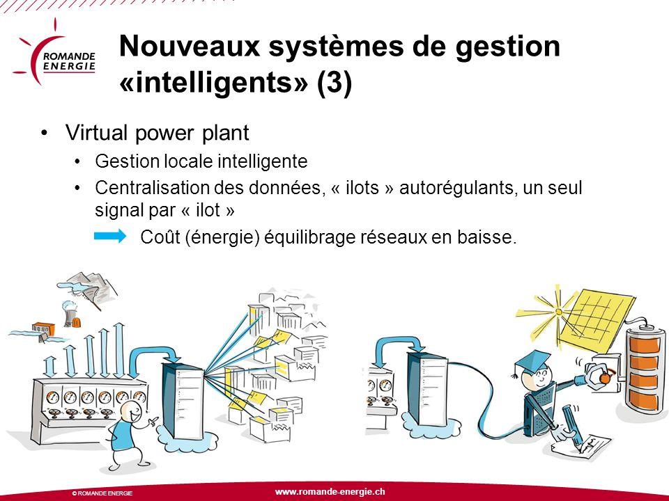 Nouveaux systèmes de gestion «intelligents» (3)