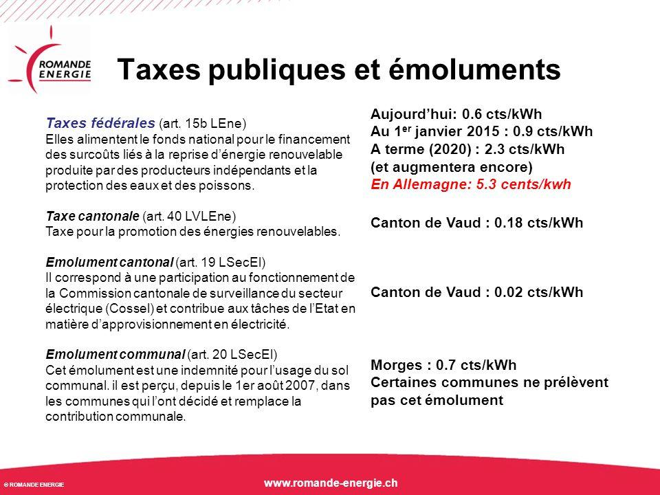 Taxes publiques et émoluments