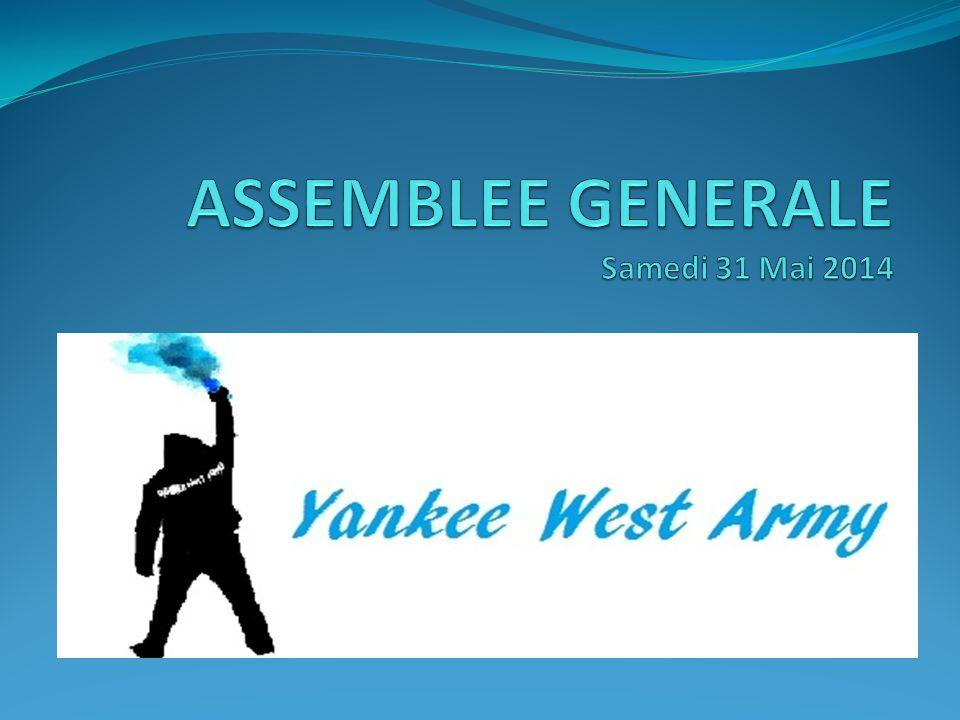 ASSEMBLEE GENERALE Samedi 31 Mai 2014