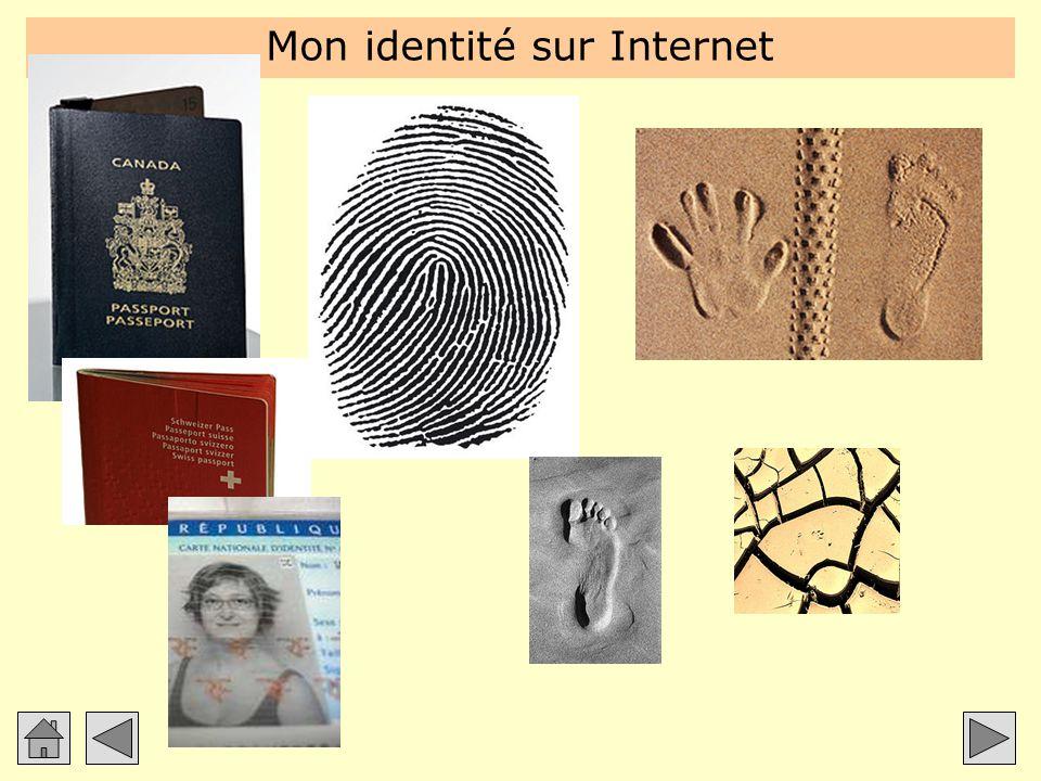 Mon identité sur Internet