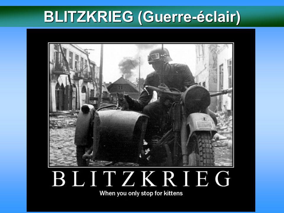 BLITZKRIEG (Guerre-éclair)