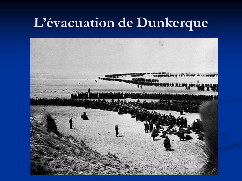L'évacuation de Dunkerque
