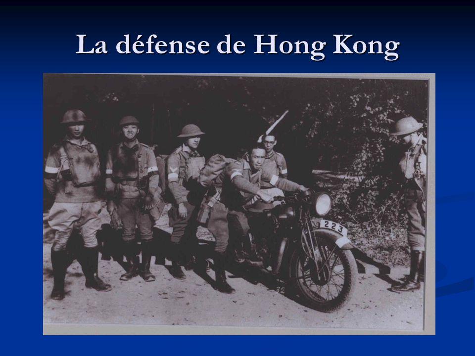 La défense de Hong Kong