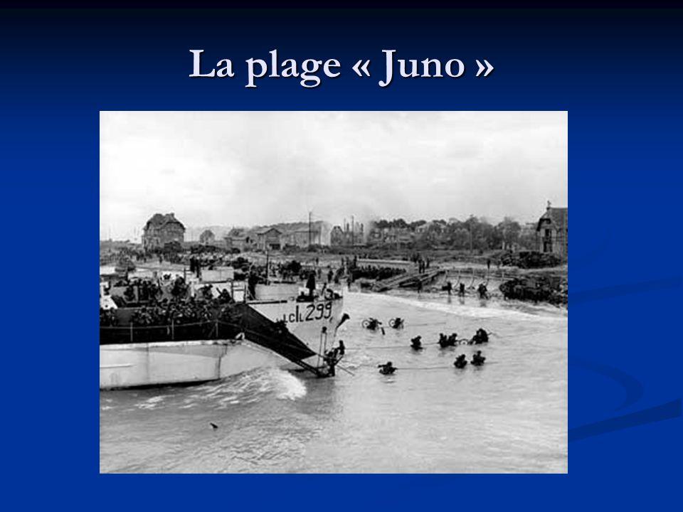 La plage « Juno »