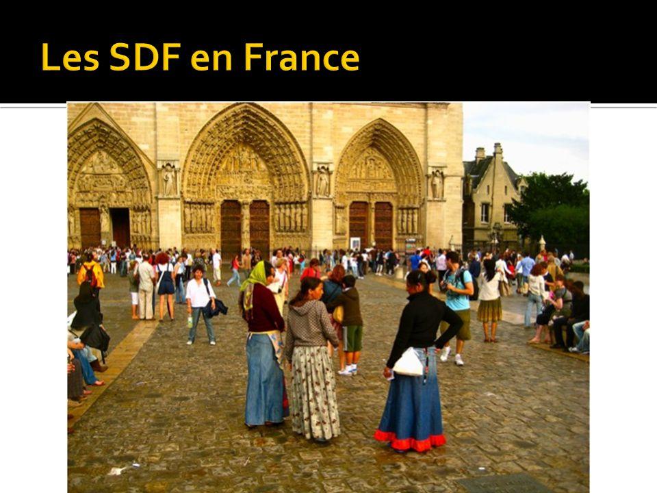 Les SDF en France