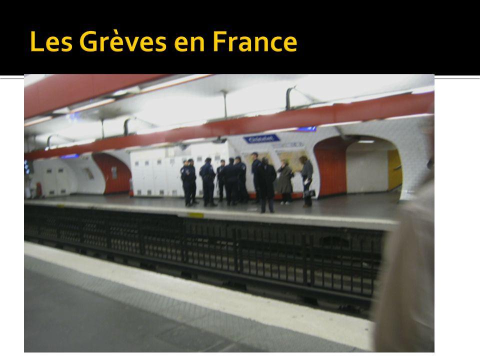 Les Grèves en France