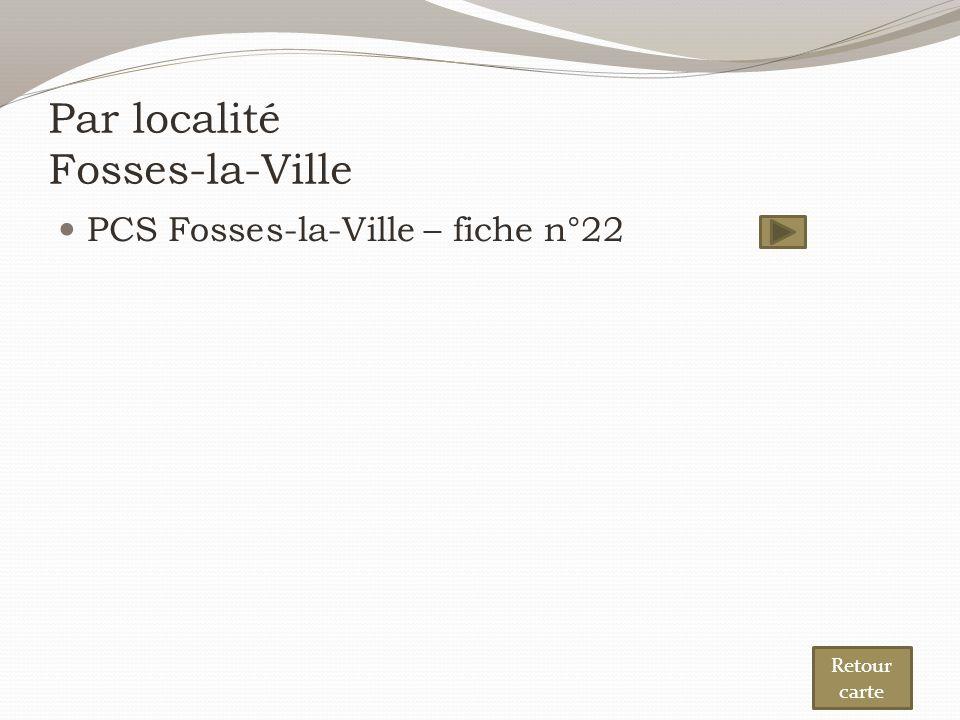 Par localité Fosses-la-Ville