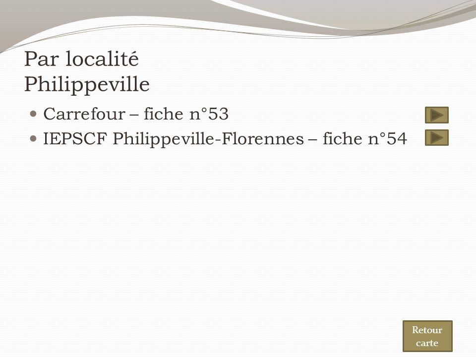 Par localité Philippeville